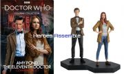 Doctor Who Figurine Collection Eleventh Doctor Amy Pond Companion Set Eaglemoss